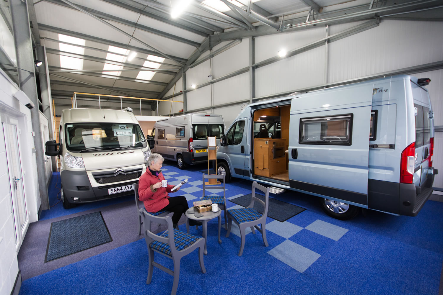 Campervans MOT and Servicing at East Neuk Campervans